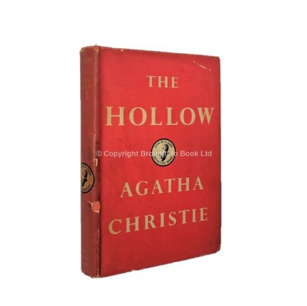 The Hollow by Agatha Christie First Edition The Crime Club by Collins 1946